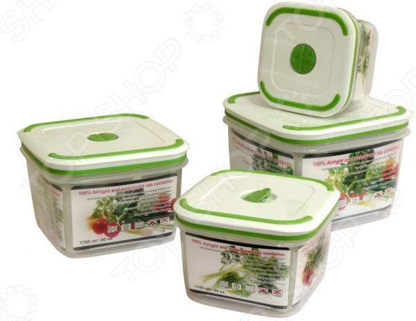 Набор контейнеров для продуктов Oriental Way GL9002-B