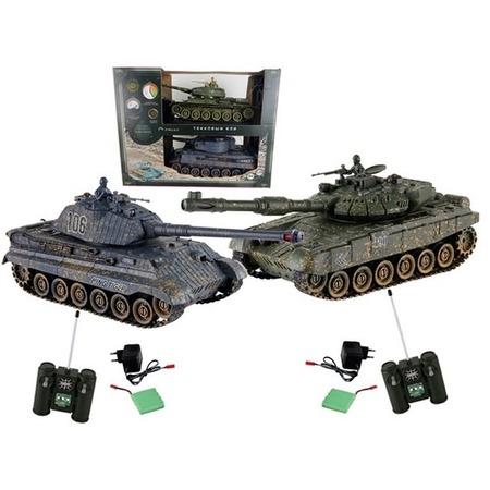 Купить Набор на радиоуправлении Yako «Танковый бой. Т90 против Королевского тигра» 6127