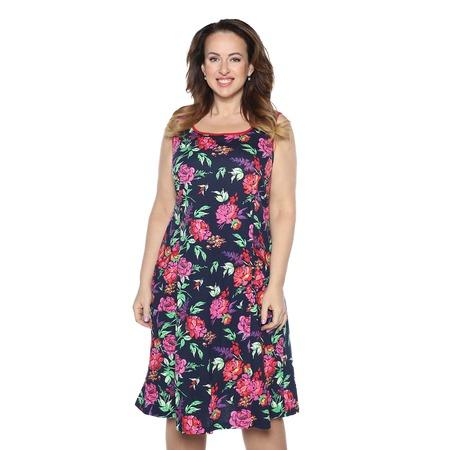 Купить Платье Алтекс «Варенька». Цвет: темно-синий