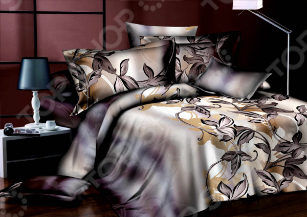 Комплект постельного белья Эго «Шанталь». 1,5-спальный Эго - артикул: 1659256