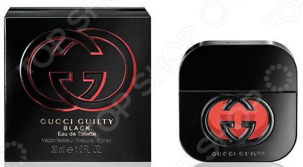 Туалетная вода для женщин Gucci Guilty Black, 30 мл туалетная вода gucci guilty black объем 30 мл вес 100 00