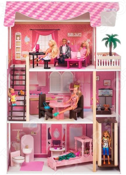 Кукольный дом с аксессуарами PAREMO «Монте-Роза»