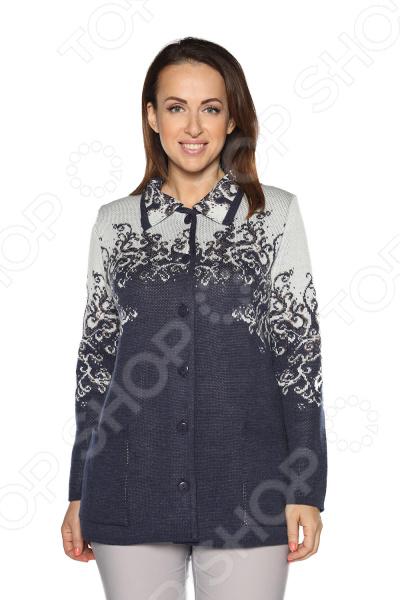 Жакет Milana Style «Хрустальная роса». Цвет: джинсовый жакет milana style цвет молочный