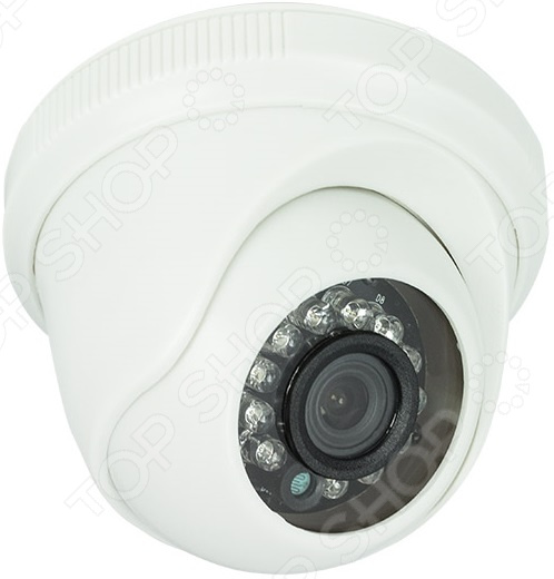 Камера видеонаблюдения купольная Rexant 45-0131 камера видеонаблюдения купольная уличная rexant 45 0134