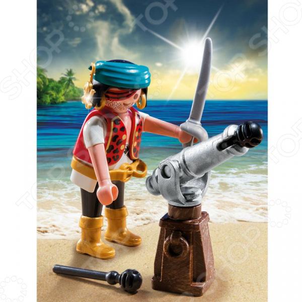 Конструктор игровой Playmobil «Экстра-набор: Пират с пушкой»