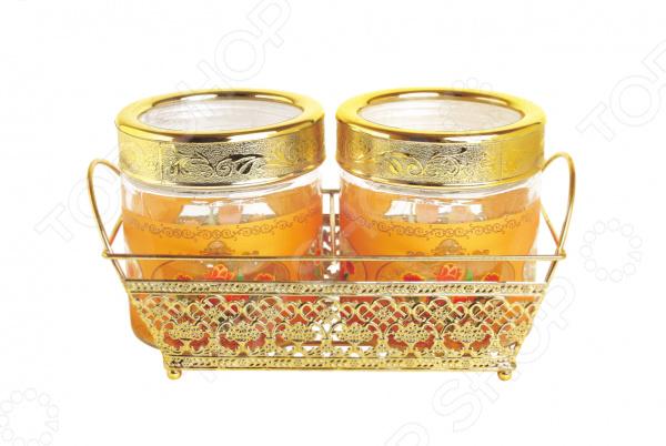Набор банок для сыпучих продуктов Queen Ruby QR-6072 цена
