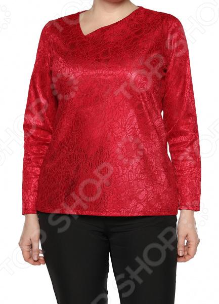 Блуза Jenks «Счастливое настроение». Цвет: малиновый блуза jenks счастливое настроение цвет фиолетовый