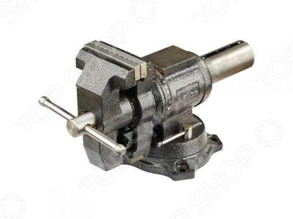 Тиски слесарные Зубр «Эксперт» 32712-100 слесарные тиски с ручным приводом wedo тсч 100