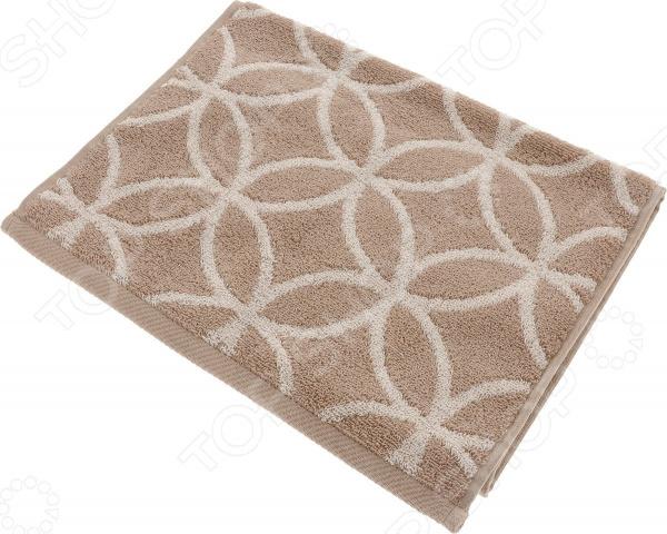 Полотенце махровое Aquarelle «Бергамо вид 3». Цвет: мокко, светло-бежевый полотенце махр aquarelle таллин 35х70см мокко