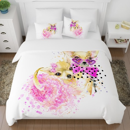 Купить Комплект постельного белья Сирень «Гламур»
