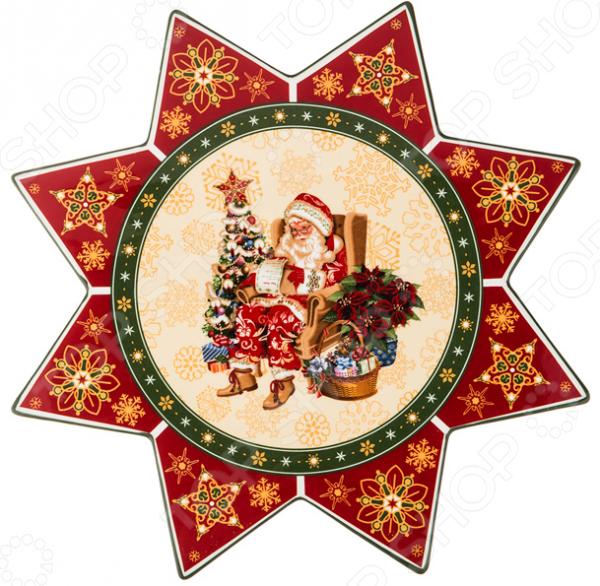 Блюдо Lefard «Новый Год!» 586-151 блюдо для блинов с крышкой lefard emma 586 041