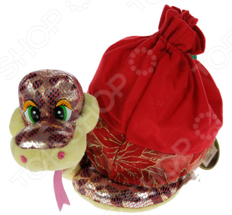 Игрушка-сумочка для подарка «Змея» 80203