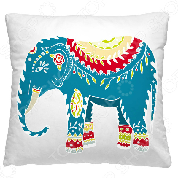 Подушка декоративная Волшебная ночь «Индийский слон»