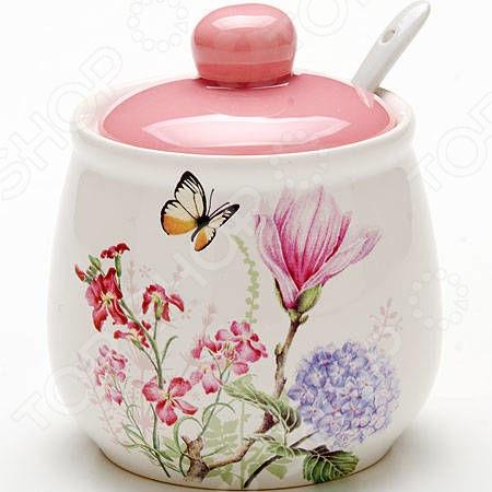 Сахарница Loraine LR-25629 «Бабочки» loraine lr 24079