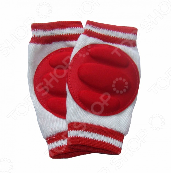Наколенники для малышей Bradex Baby Crawl Knee Pads Наколенники для малышей Bradex DE 0137 /Красный