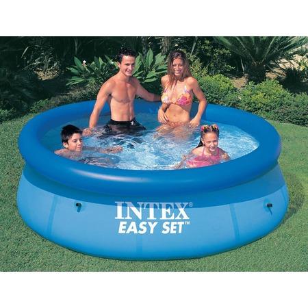Купить Бассейн надувной семейный с фильтр-насосом Intex с28122 Easy Set