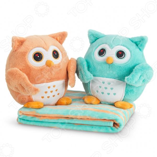 Комплект из двух игрушек и пледа Dormeo «Совиная пара»