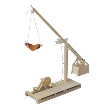 Купить Конструктор деревянный Bradex «Катапульта. Леонардо Да Винчи»
