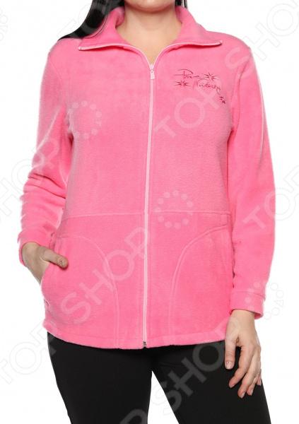 Пуловер El Fa Mei «Мягкое мгновение». Цвет: розовый