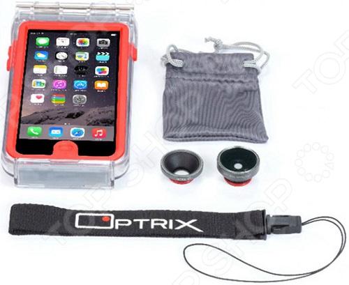 Набор аксессуаров для смартфона Optrix Photo для iPhone 6/6S optrix bg black red защитная сумка для смартфона
