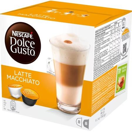 Капсулы для кофемашин Krups Nescafe Dolce Gusto Latte Macchiato
