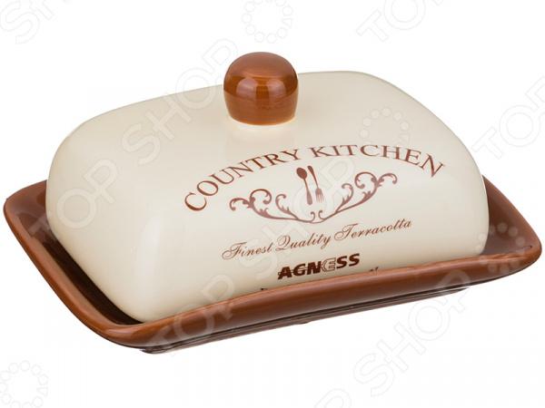 Масленка Agness «Фэмили» 358-993 просто вкусно праздничный стол