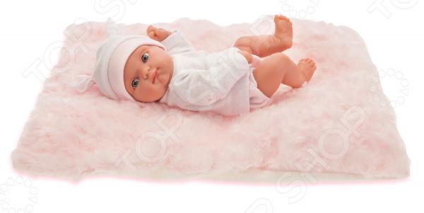 Пупс Munecas Antonio Juan «Пепита на розовом одеялке» кукла munecas antonio juan белла в шляпке блондинка 45 см 2808p