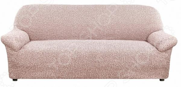 Натяжной чехол на трехместный диван Еврочехол «Тела Пианта»