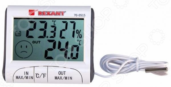 Термогигрометр уличный Rexant 70-0515 прибор для измерения влажности в помещениях