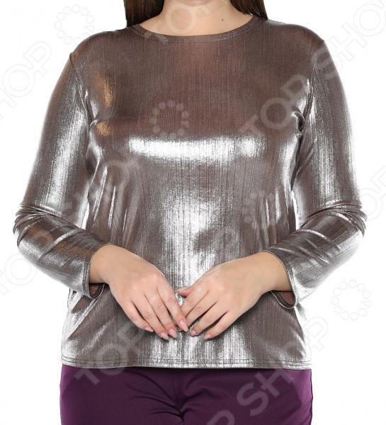 Блуза Blagof «Изасканный блеск». Цвет: серебристый