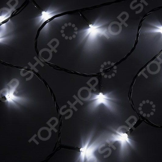 Гирлянда светодиодная Neon-Night «Твинкл Лайт». Цвет свечения: белый