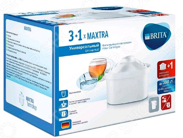 Комплект картриджей к фильтру для воды Brita Maxtra «Универсальный 4» цена