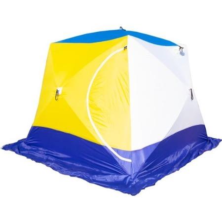 Купить Палатка СТЭК «Куб 4» трехслойная дышащая