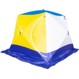 Палатка СТЭК «Куб 4» трехслойная дышащая