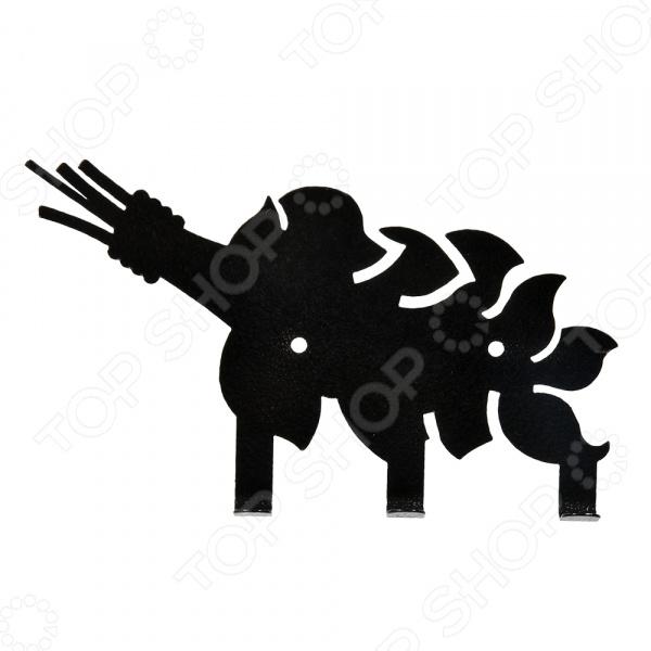 Вешалка Банные штучки «Веник» 32491 вешалка настенная с 5 крючками agama