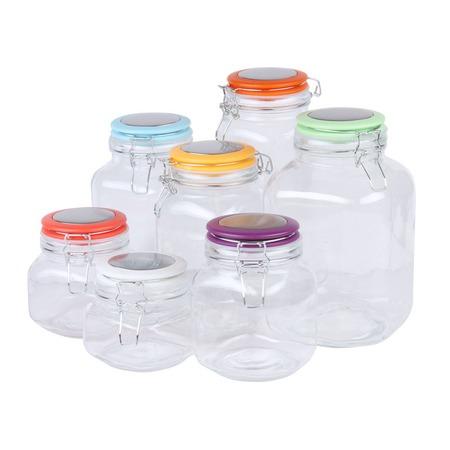 Купить Набор банок для сыпучих продуктов Rosenberg RGL-220016-7