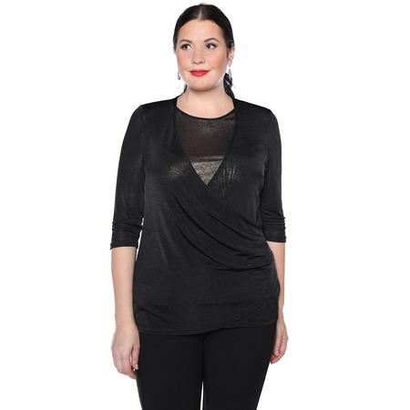 Купить Блуза VEAS «Пылкое сердце». Цвет: черный