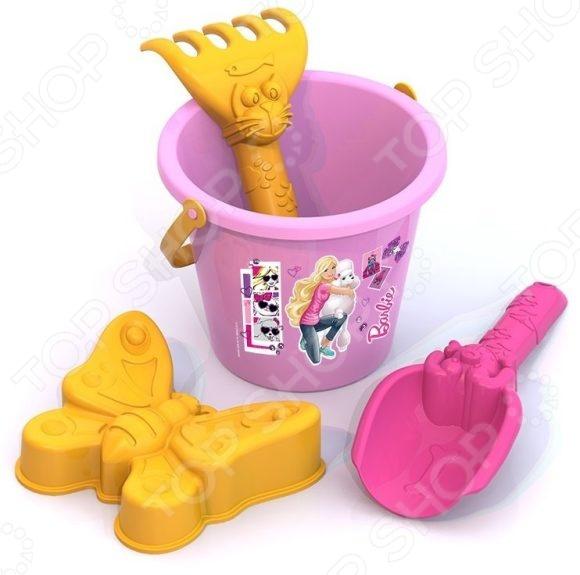 Набор для игры в песочнице Нордпласт №1 «Барби»