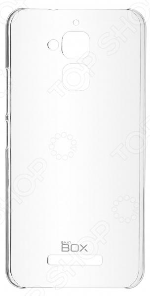 Чехол защитный skinBOX ASUS ZenFone 3 Max ZC520TL чехол накладка asus bumper case для zenfone 3 zc520tl полиуретан поликарбонат черный 90ac0240 bcs001