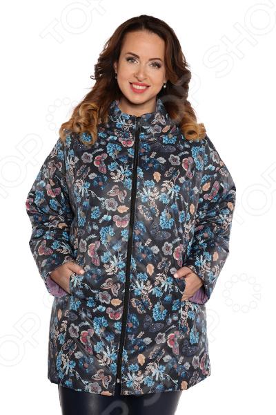 Куртка Гранд Гром «Весенний привет». Цвет: черный