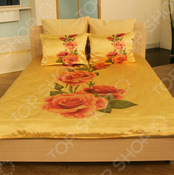 Комплект постельного белья «Алла розы». 1,5-спальный