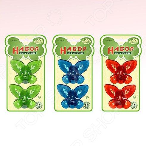 Набор крючков Мультидом «Бабочки» SM27-195. В ассортименте