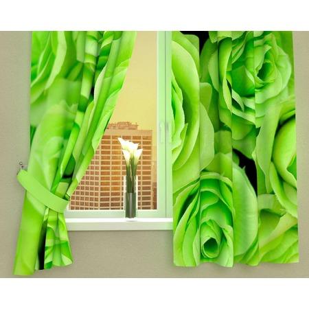 Купить Фотошторы Сирень «Зеленые розы»