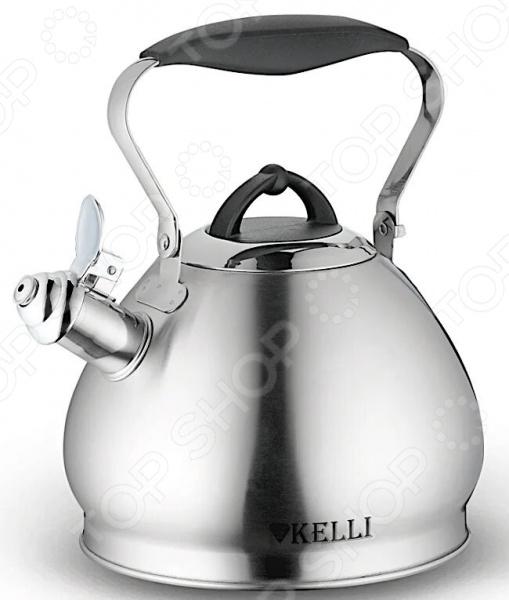 Чайник со свистком Kelli KL-4333