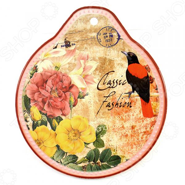 Подставка под горячее Коралл «Цветочный сад» браслеты indira браслет бирюза коралл gl0143