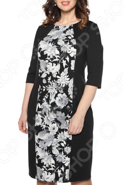 цены Платье La Via Estelar «Цветочная аллея». Цвет: серый
