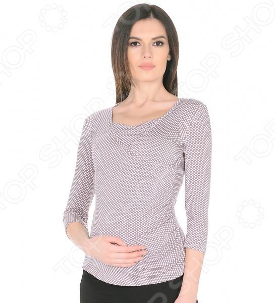 Блуза для беременных и кормящих мам Nuova Vita 1304.09