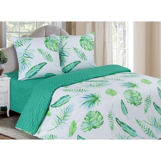 фото Комплект постельного белья Ecotex «Поэтика. Тропики». Размерность: евростандарт
