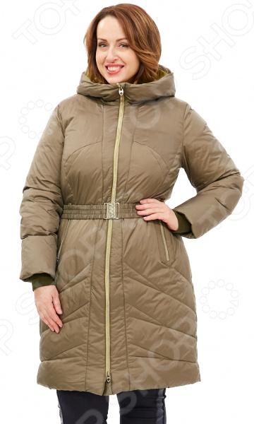 Пальто D`imma «Лина». Цвет: хаки d imma fashion studio плащ катрин бежевый
