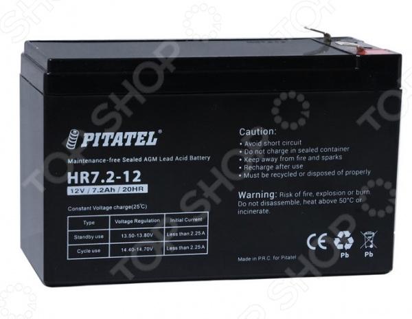 Аккумулятор для источников бесперебойного питания Pitatel HR7.2-12